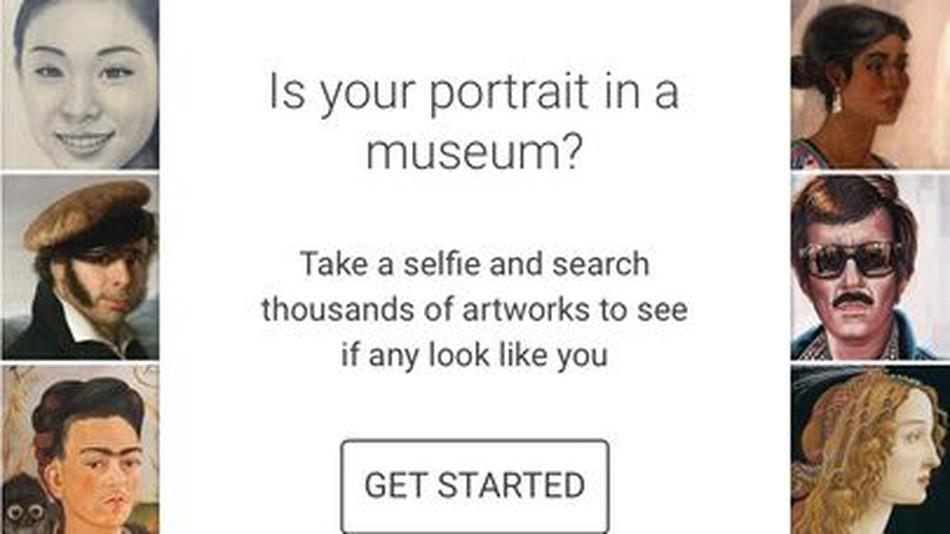 Google Art Project Selfies