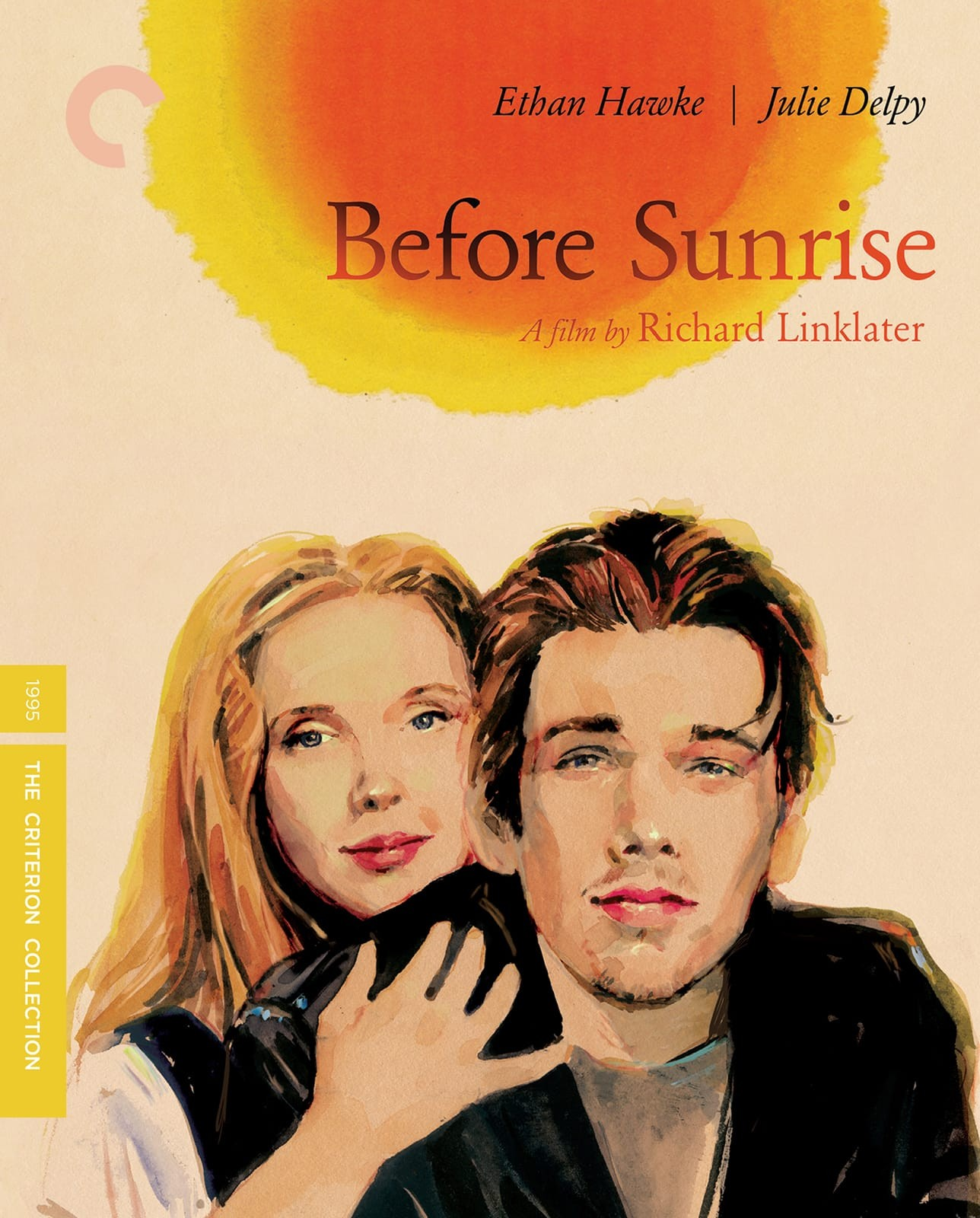 Pretty pretty covers courtesy The Criterion Collection Before Sunrise