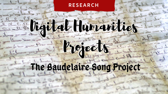 The Baudelaire Song Project