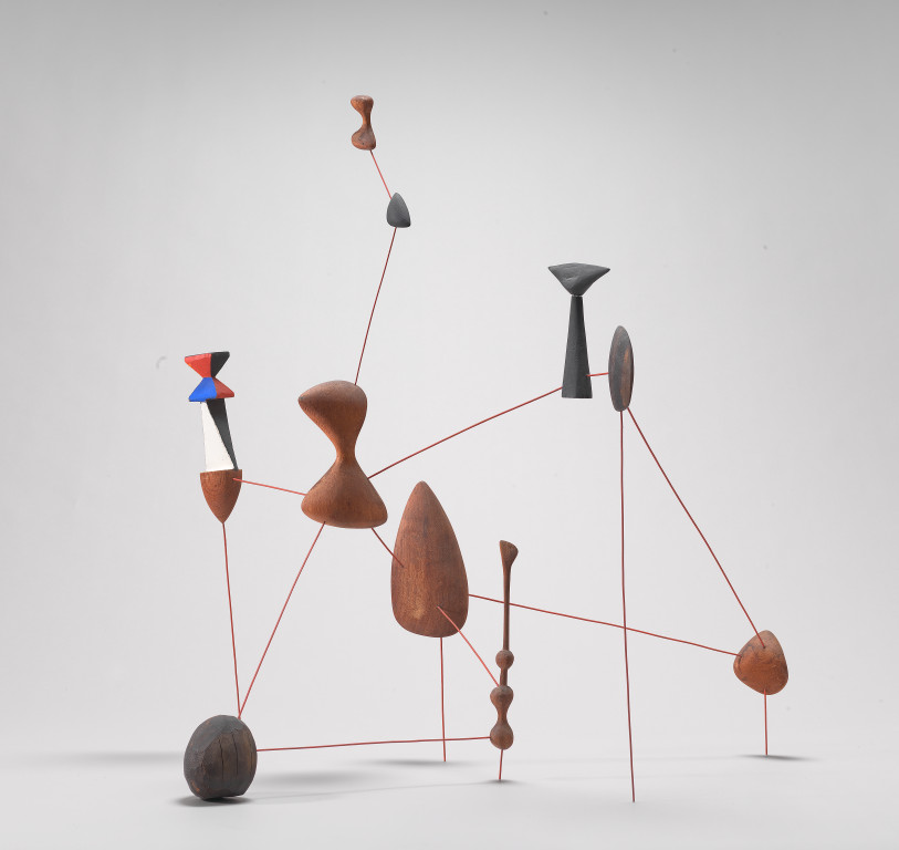 Alexander Calder's Vertical Constellation with Bomb