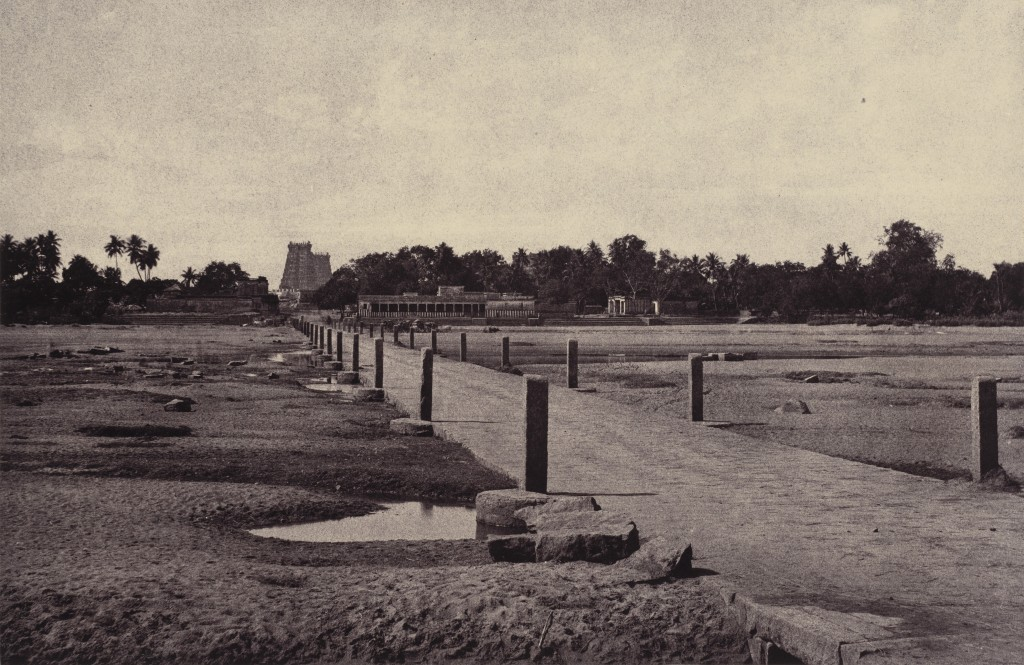 Linnaeus Tripe's Madura: The Vygay River, with Causeway, across to Madura