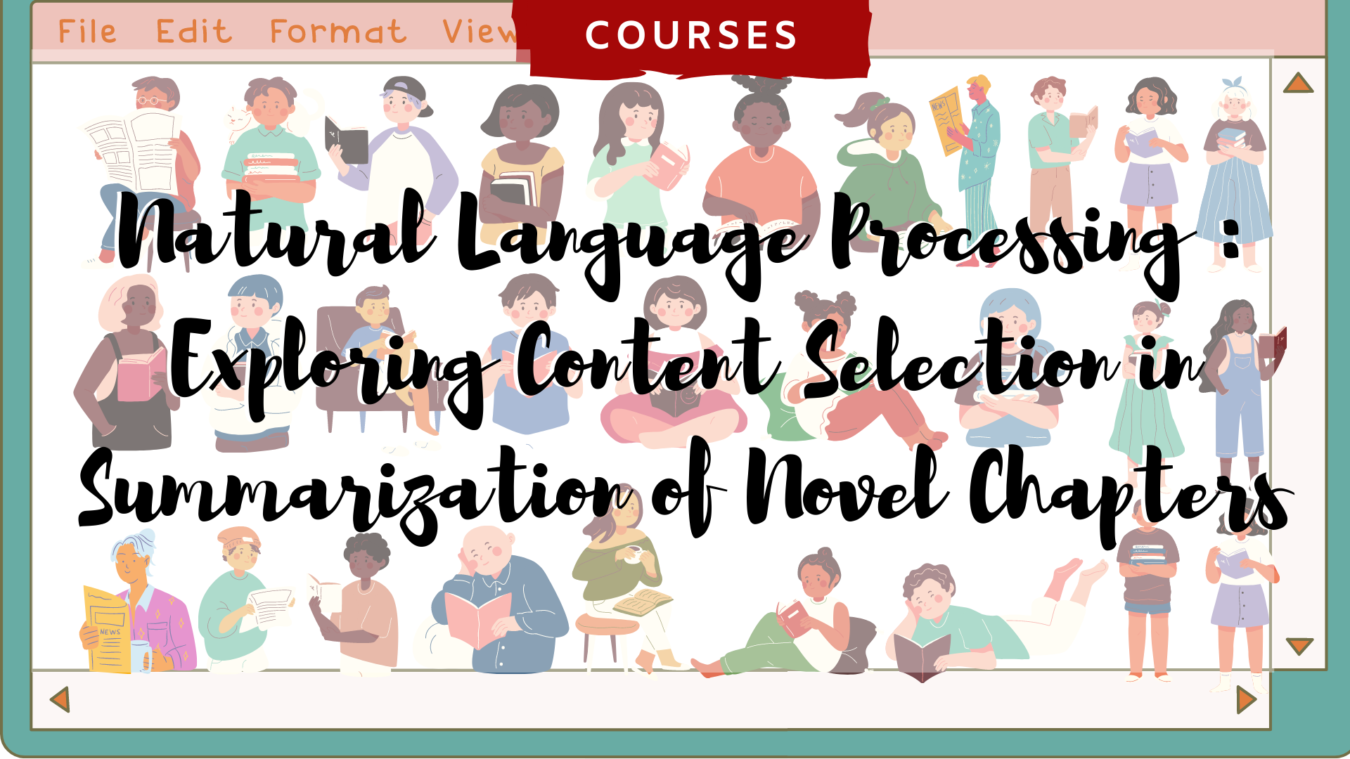 Natural Language Processing Paper Discussion: Exploring Content Selection in Summarization of Novel Chapters